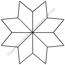 Трафарет Star Design 14 см
