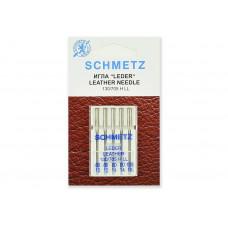 Иглы SCHMETZ для кожи 5-№80-90-100