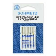 Иглы SCHMETZ комбинированные 5-№70-80-90