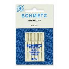 Иглы SCHMETZ стандартные 5-№70-80-90-100