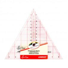 """Линейка - треугольник, 8"""" x 9 1/4""""   NL4174"""