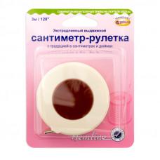 """Сантиметр - рулетка экстра длинный , 300 cм/120""""  253.XL"""