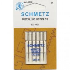 Иглы SCHMETZ металлизированные 5-№90