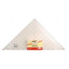 """Линейка - треугольник, 12 1/2"""" x 12 7/8""""   NL4205"""