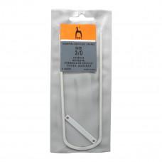 Вилка для вязания № 3/ 45м, алюм. PONY