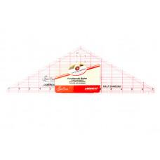 """Линейка - треугольник, 14 1/2"""" x 4 1/2""""   NL4175"""