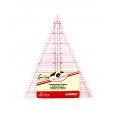 Линейка-треугольник NL4157
