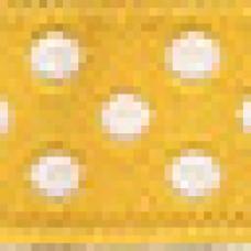 Декоративная лента 20мм жел/бел
